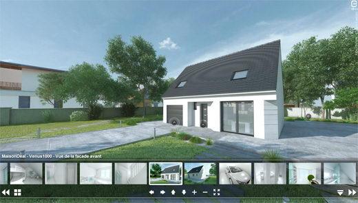 Visite virtuelle maisons deal